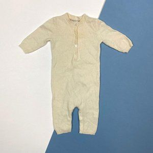 Bonpoint Baby Cashmere Coverall 3 Months